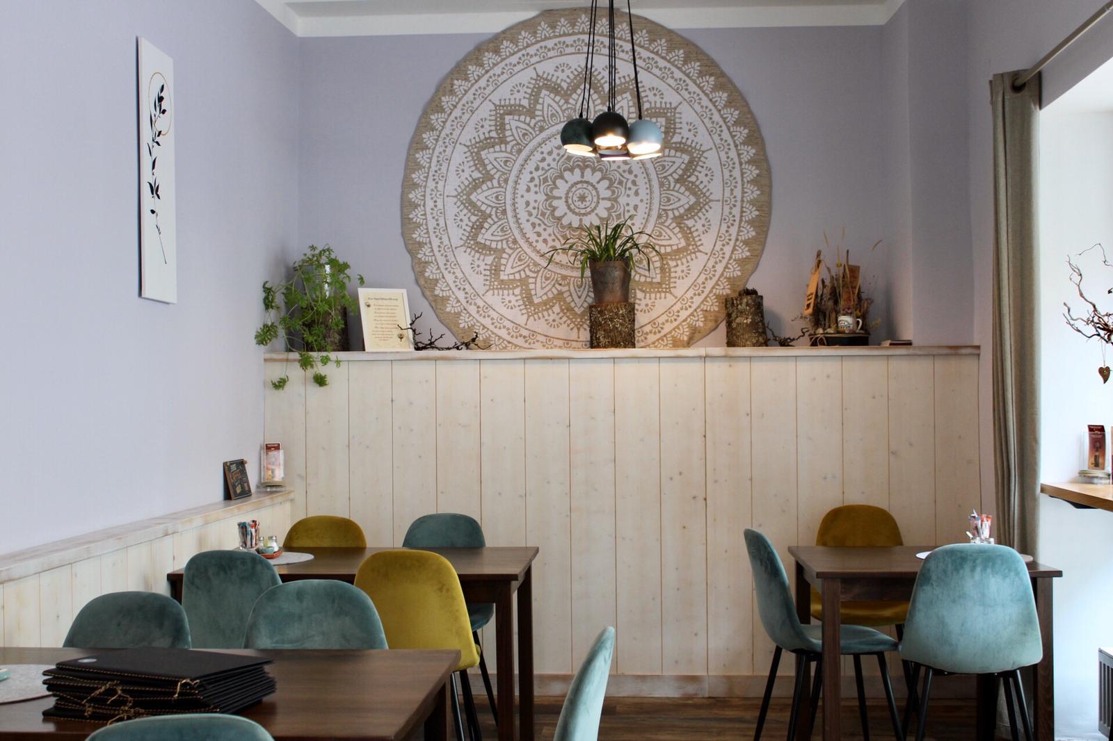 Innenraum CaféLaden